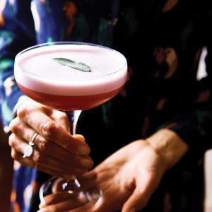 Cherry, Blueberry & Apple Brandy Cocktail